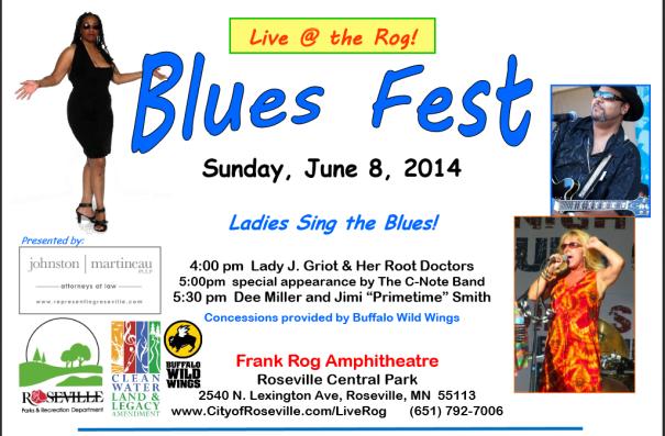 Roseville Blues Fest | BWS Productions MN