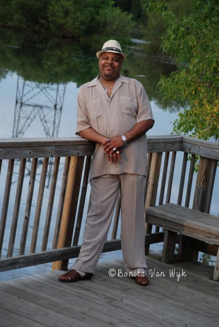 """Jimi """"Prime Time"""" Smith (2014 Hall of Fame Performer Nominee)at Roseville MN Blues Festival"""